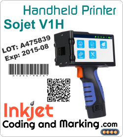 Labeling Coders Packaging – Sojet V1H Handheld Printer