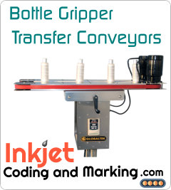 Belt Conveyors Systems – Bottle Gripper Transfer Conveyors – Bottomless Packaging