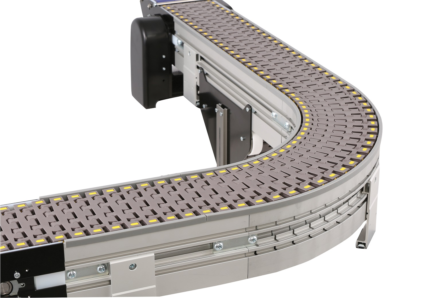 3200 Series Modular Belt Conveyors provide enhanced functionality and flexibility to better meet your packaging needs