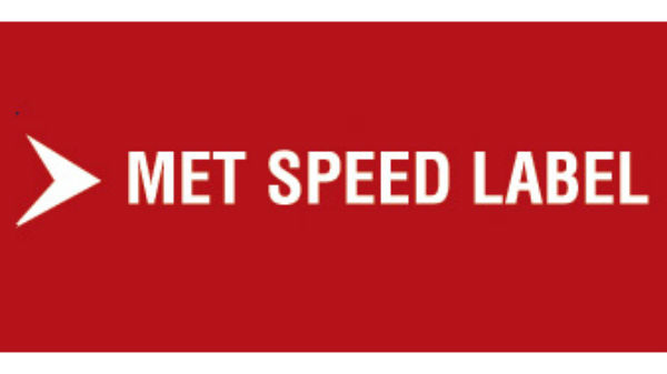 Met-Speed Label